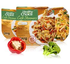 These are awesome!  Café Steamers - Low-Fat Meals and Healthy, Quick Meals - Healthy Choice