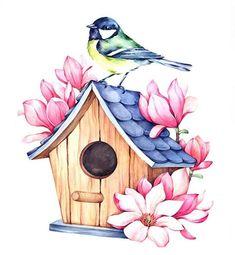 Из этих пчёлок будут схемы для вышивки. . Вот интересно, как раньше без помощи компьютерных программ разрабатывались схемы? #иллюстрация… Fabric Painting, Watercolour Painting, Watercolor Flowers, Color Pencil Art, Bird Art, Doodle Art, Easy Drawings, Cute Art, Art Sketches