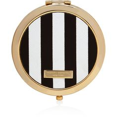 Henri Bendel Heritage Compact Mirror (63 AUD) ❤ liked on Polyvore featuring beauty products, beauty accessories, beauty, makeup, cosmetics, accessories and henri bendel