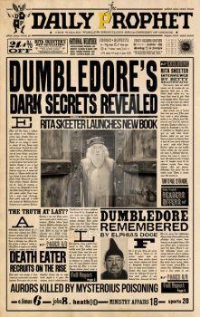 DP Dumbledore Dark Secret Reveled by WiwinJer