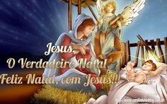Cartões de Natal. Feliz Natal com Jesus. Cantinho do Blog Cantinho do blog Layouts e Templates para Blogger