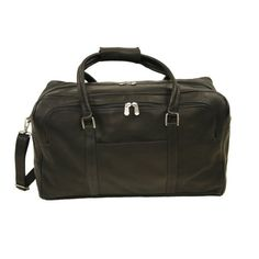 Piel Leather HalfMoon Duffel Chocolate One Size ** Continue to the product at the image link. (This is an affiliate link) #TravelDuffels