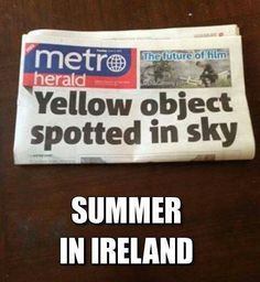 Summer in Ireland!