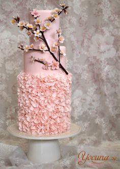#Cake #Amazing #Wedding #Flowers #Cherry #Blossom
