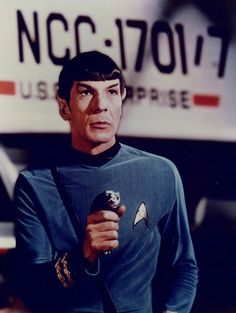 Spock....if only I were Vulcan...my love...