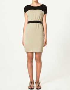 Zara Combined Dress, and they are finally going to start shipping in the US this month, that makes me VERY HAPPY!