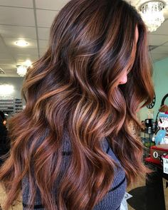 27 Blazing Hot Red Ombre Hair Color Ideas in 2019 - Style My Hairs Brunette Color, Ombre Hair Color, Hair Color Balayage, Ombre Hair Brunette, Winter Hairstyles, Hairstyles Haircuts, Simple Hairstyles, Fall Hair Color For Brunettes, Gorgeous Hair