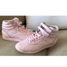 3688ab21119 Shop Women s Reebok Pink size Sneakers at a discounted price at Poshmark.