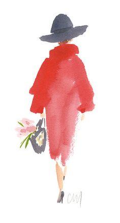 Shopper - Caitlin McGauley - Tiger Flower Studio