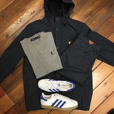 Football Casual Clothing, Football Casuals, Trendy Outfits, Cool Outfits, Fashion Outfits, Mod Fashion, Fashion Photo, Skinhead Girl, Outfit Grid