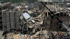 Forty survivors were found trapped in room in the garment factory that collapsed yesterday in Bangladesh. Broken City, Purple Hibiscus, Richest In The World, Minimum Wage, Photojournalism, Worlds Of Fun, Clothing Company, Ethical Fashion, City Photo