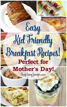 Easy Breakfast Recipes for Mother's Day! - Busy Being Jennifer