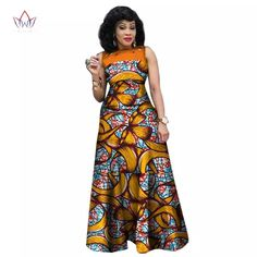 African Dresses for Women, African Print Clothing, Ankara Long Dress Plus Size - Owame Long African Dresses, African Print Dresses, African Fashion Dresses, Fashion Outfits, Fashion Hacks, Fashion Styles, African American Fashion, African Print Fashion, Africa Fashion