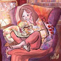"""""""You can never get a cup of tea large enough or a book long enough to suit me."""" ~C.S. Lewis"""