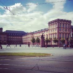 Mannheim ~ Baden-Württemberg ~ Germany ~ Mannheim (Schwetzingen) Palace is used by the University of Mannheim.