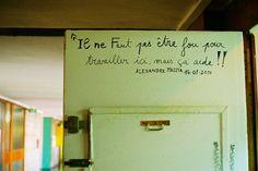 Il ne Faut pas etre fou. by Marion Berrin