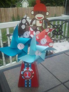Sock Monkeys!! Birthday Party Ideas | Photo 1 of 16 | Catch My Party