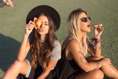 Ideias de fotos no Rock in Rio com amiga - Victória Rocha Round Sunglasses, Sunglasses Women, Rock In Rio, Squad, Best Friends, Friendship, Pasta, Goals, Photo Shoot Poses