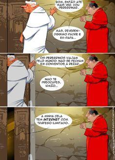 Cartoon: O peregrino