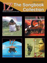 """Iz: The Songbook Collection - Israel """"Iz"""" Kamakawiwo'Ole, Guitar/Ukulele Edition --   Seventeen beautiful songs transcribed for guitar and ukulele exactly as played by IZ including his breathtaking version of """"Over the Rainbow"""" as heard on the soundtracks to Finding Forester, 50 First Dates, and """"ER."""" There are also four pages of color photos featuring Israel Kamakawiwo'Ole, the Hawaiian singer with an unparalleled voice. #music #sheetmusic #ukulele #iz"""