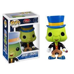 Pinocchio Jiminy Cricket Pop! Disney Pop! Vinyl Figure