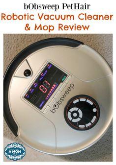 bObsweep PetHair Robotic Vacuum Cleaner & Mop Review
