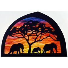 Transparant, familie olifant