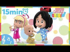 Familia Telerín. Colección Canciones (15 minutos). Canciones Infantiles para Niños. - YouTube