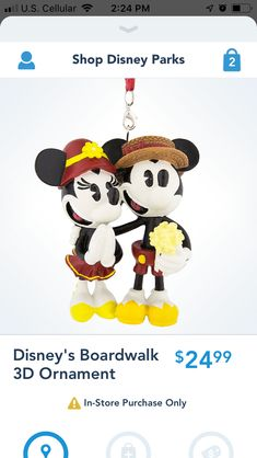 New on shop Disney app for the boardwalk resort Mickey Shorts, Disney Parks, Mickey Mouse, App, Disney Characters, Apps, Baby Mouse