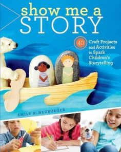 "Library programs using Emily Neuberger's ""Show Me a Story"": ""educator, writer, and craft designer Emily Neuberger joins us to talk about her 2012 book, Show Me a Story and some related library programming she did for the Boston Public Library"""