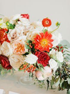 Photography: Merari Photography - merari.com Venue: Eden Roc - edenrocmiami.com Floral Design: Ever After Floral Design - http://everafterfloraldesign.com   Read More on SMP: http://www.stylemepretty.com/2015/11/13/bright-colorful-miami-resort-wedding/