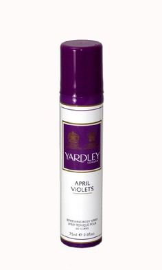 65% Off was $17.00, now is $5.98! Yardley of London Refreshing Body Spray for Women, April Violets, 2.6 Ounce