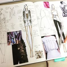 Ideas Fashion Sketchbook Layout Inspiration Sketch Books For 2019