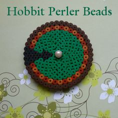Hobbit Perler Beads some ideas for creating fused bead crafts based on the Hobbit and Lord of the Rings movies.