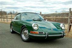1968 Porsche 912 in Irish Green