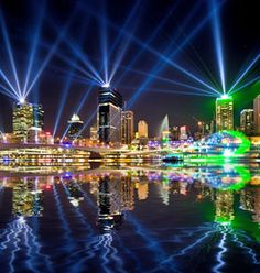 A snap from Brisbane Festival 2012, who's seen the Santos GLNG City of Lights this year? #bneculture