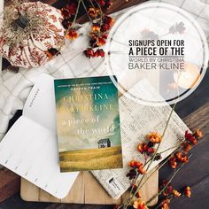 Signups are now open for A Piece of the World by Christina Baker Kline!!!! If you are interested in being a host click on the link in my bio and fill out the tour form! . Synopsis: From the #1 New York Times bestselling author of the smash bestseller Orphan Train a stunning and atmospheric novel of friendship passion and art inspired by Andrew Wyeths mysterious and iconic painting Christinas World. Later he told me that hed been afraid to show me the painting. He thought I wouldnt like the…