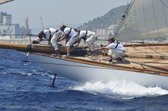 Curs avançat de fotografia de mar MMB. Regata de vaixells clàssics Puig. Barcelona 2014. Foto: Javier Roca