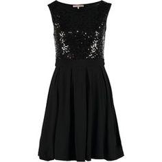 Anna Field Sukienka z dżerseju black