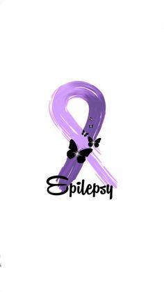 Epilepsy Epilepsy Awareness Month, Awareness Tattoo, Breast Cancer Awareness, Purple Day, Shades Of Purple, Piercing Tattoo, Piercings, Medical Alert Tattoo, Epilepsy Tattoo