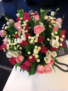 3 #bouquet #fleurs #flowers #interflora #flowerstagram #fleuriste