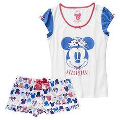 Mickey & Minnie Short Pyjama Set