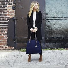 Lo & Sons O.G. bag in beautiful navy
