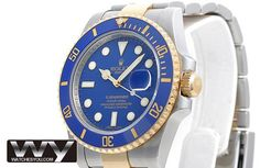 Rolex Submariner Oyster Bracelet Mens Replica Watch 116613LB