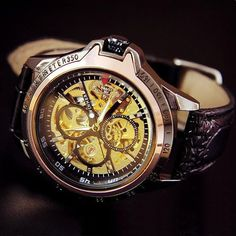 6e70a3103dd Mens Watch   Vintage Style Watch   Handmade Style Watch   Leather Band  Watch… Amazing