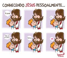 I love Jesus Jesus Lives, Jesus Loves You, My Jesus, Jesus Christ, I Love Jesus, Jesus Cartoon, Bible Photos, Little Memes, Jesus Freak