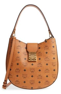 d05728f3c97 online shopping for MCM Patricia Visetos Coated Canvas Hobo from top store.  See new offer for MCM Patricia Visetos Coated Canvas Hobo