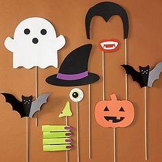 Halloween Photo Props Kit