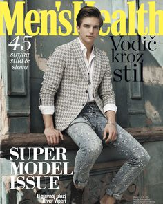 River Viiperi by Sinem Yazici for Men's Health Style April issue!