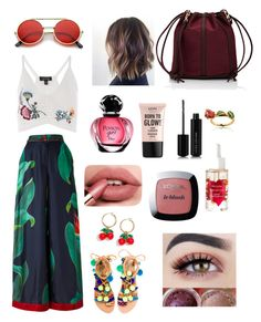 """Untitled #18"" by cris-bia on Polyvore featuring F.R.S For Restless Sleepers, Topshop, Elina Linardaki, J.Crew, L'Oréal Paris, NYX, Marc Jacobs, Deux Lux and Disney"